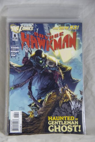 DC Comic The Savage Hawkman (The New 52) Issue #6