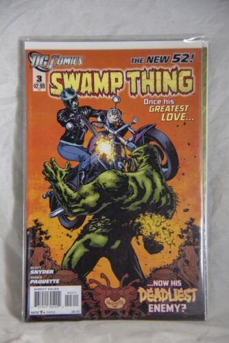 DC Comic Swamp Thing (The New 52) Issue #3