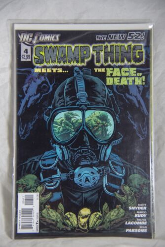 DC Comic Swamp Thing (The New 52) Issue #4 Meets the Face of Death!