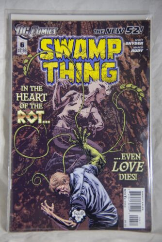 DC Comic Swamp Thing The New 52 Issue #6 In the Heart of the Rot even love Dies