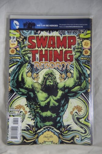 DC Comic Swamp Thing The New 52 Issue #7 Reborn?