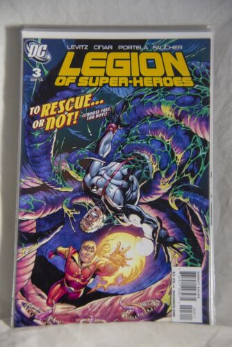 DC Comic Legion of Super-Heroes Issue #3 To the Rescue or Not!