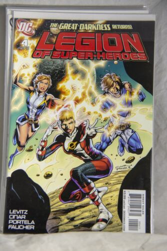 DC Comic Legion of Super-Heroes Issue #4