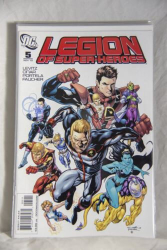 DC Comic Legion of Super-Heroes Issue #5
