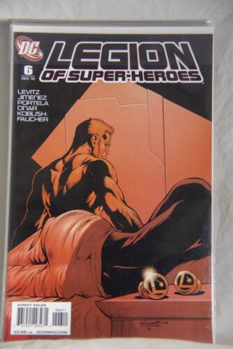 DC Comic Legion of Super-Heroes Issue #6