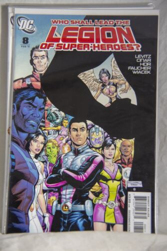 DC Comic Legion of Super-Heroes Issue #8