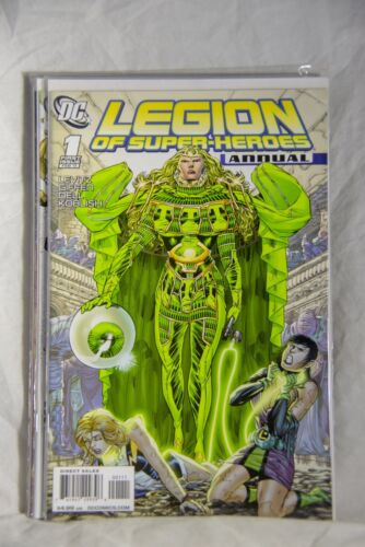 DC Comic Legion of Super-Heroes Issue #1 Annual 2011
