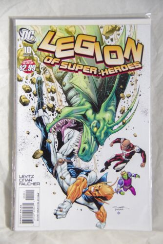 DC Comic Legion of Super-Heroes Issue #10