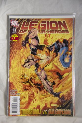 DC Comic Legion of Super-Heroes Issue #11