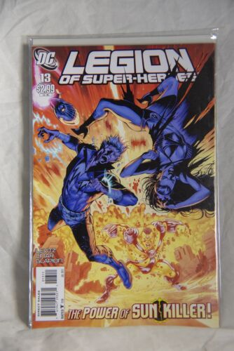 DC Comic Legion of Super-Heroes Issue #13 The Power of Sun Killer!