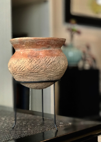 1000 B.C. Neolithic Pottery Vase, Southeast Asia Archaeology (#2)
