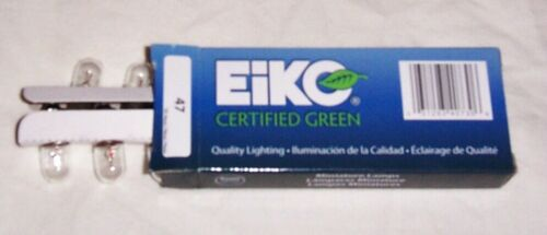 Top Holiday Gifts 10 #47 Eiko Clear Miniature Light Bulbs Lamps For Pinball Machines & More New!