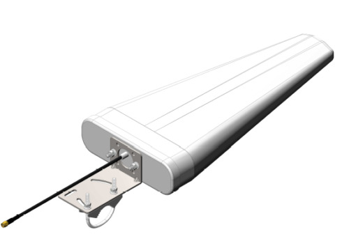 GSM/3G/4G/wifi Log Periodic Antenna High Gain (11.0 dBi) wide band for boosting