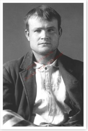Butch Cassidy Outlaw Robert LeRoy Parker Silver Halide Photo