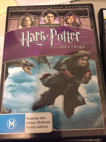 Harry Potter And The Goblet Of Fire DVD - New