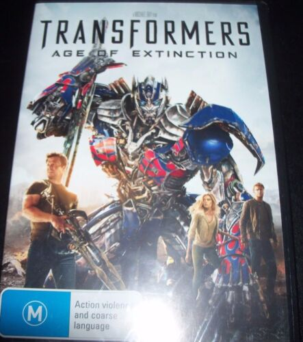 Transformers Age Of Extinction (Australia Region 4) DVD - New