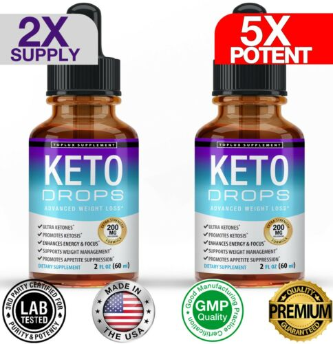 Keto Diet Shred-Best Ketosis Drops Weight Loss Supplement Fat Burn&Carb Blocker  <br/> #1 Selling KETO Drops on eBay Best Price Best Quality !