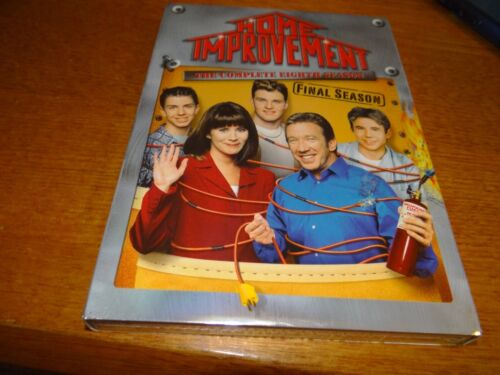 HOME IMPROVEMENT THE COMPLETE EIGHTH SEASON 8 DVD *BRAND NEW*