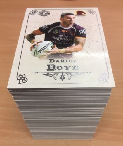 2018 Nrl GLORY BASE SET & Official Album (188 Cards)Rugby League (NRL) Cards - 25583