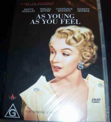 As Young As You Feel (Marilyn Monroe Monty Woolley) (Australia Reg 4) DVD - NEW
