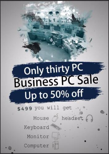 Business Pc sale Up to 50% off