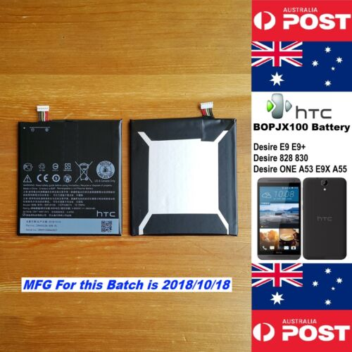 GENUINE HTC Desire E9+ 828 830 ONE A53 A55 Battery BOPJX100 2800mAh Local Seller