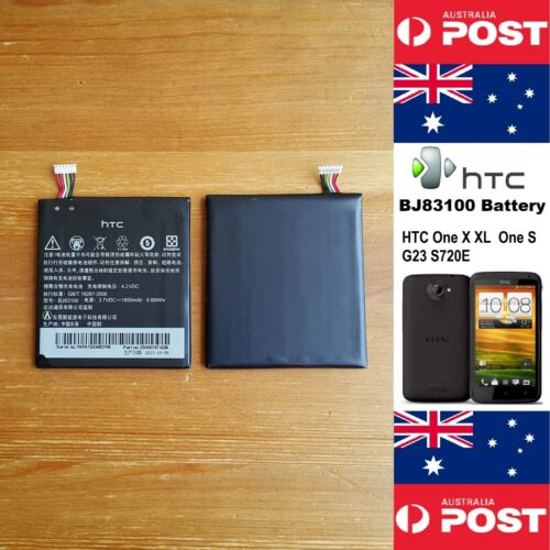 GENUINE HTC ONE X XL One S G23 S720E Battery BJ83100 1800mAh  Local Seller