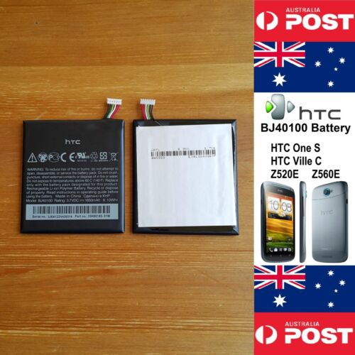 GENUINE HTC One S Ville C Z520E Z560E Battery BJ40100 1650mAh Good Quality Local