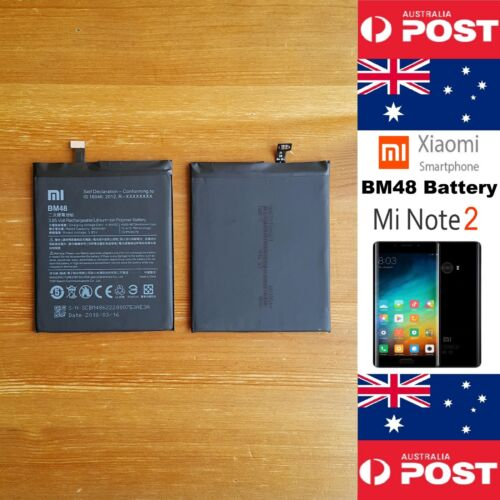 GENUINE Xiaomi Mi Note 2 Battery BM48 4070mAh Good Quality - Local Seller