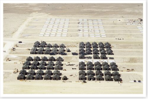 First Marine Expeditionary Force Billeting Area Desert Shield 8 x 12 PhotoReproductions - 156449