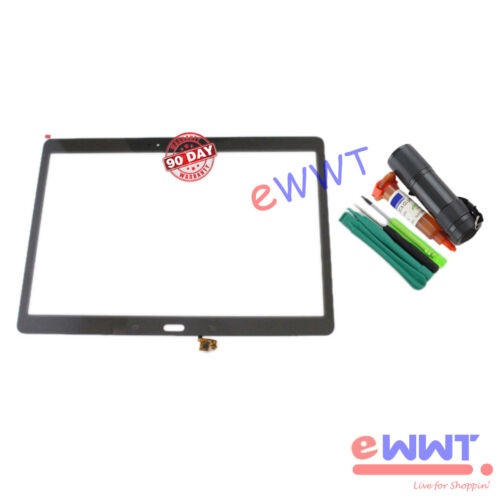 Bronze LCD Touch Screen Glass+UV Glue for Samsung Galaxy Tab S 10.5 T800 ZVLT856