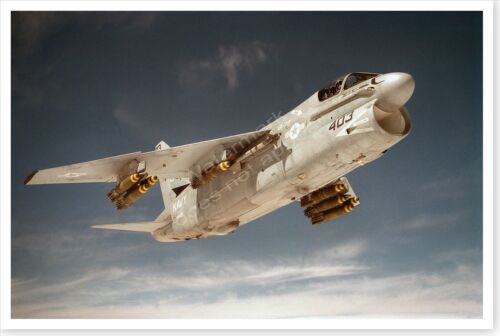 A-7E Corsair Aircraft From Attack Squadron 72 Operation Desert Storm 8x12 Photo
