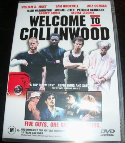 Welcome To Collingwood (William H Macy Sam Brockwell) (Aust R 4) DVD – Like New