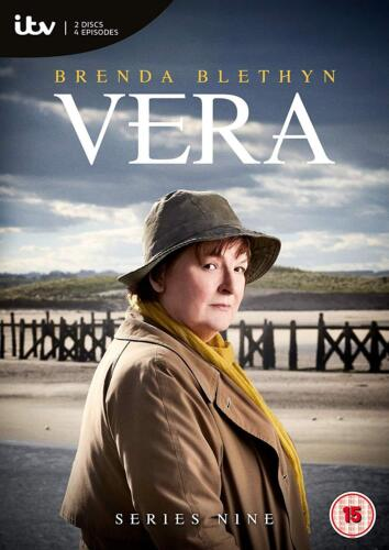 Vera Season Series 9 DVD Region 4 Brenda Blethyn New & Sealed IN STOCK