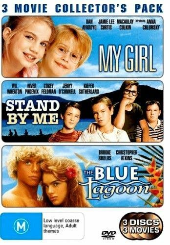 My Girl + Stand By Me + The Blue Lagoon (3 DVD Disc) - VGC