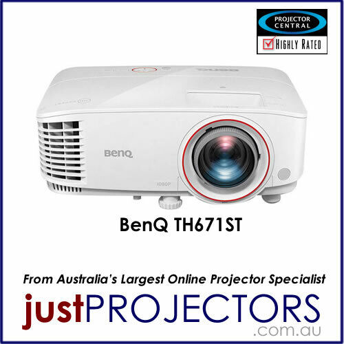 BenQ TH671ST FULL HD Short Throw Projector. Genuine Aussie release, 2 year wrty
