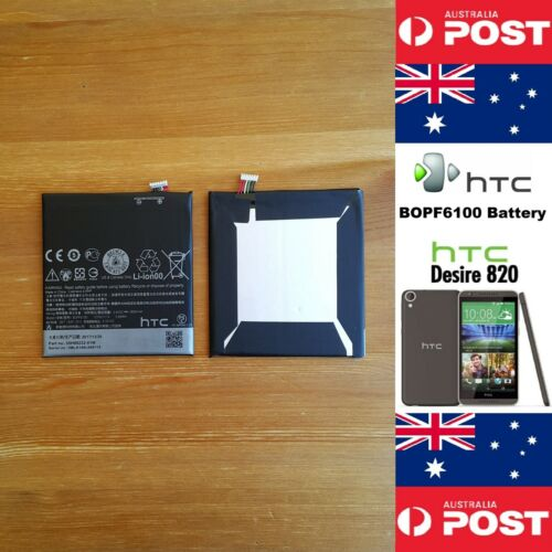 GENUINE HTC Desire 820 Battery BOPF6100 2600mAh Good Quality Local Seller!
