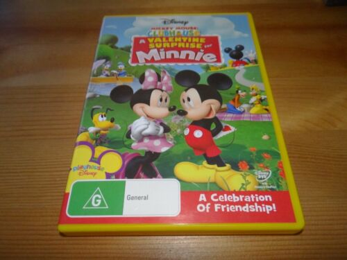 MICKEY MOUSE CLUBHOUSE : A VALENTINE SURPRISE DVD *BARGAIN*