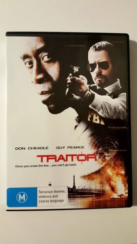 """Traitor"" Action Movie (DVD R4) Don Cheadle, Guy Pearce - (FREE POST)."