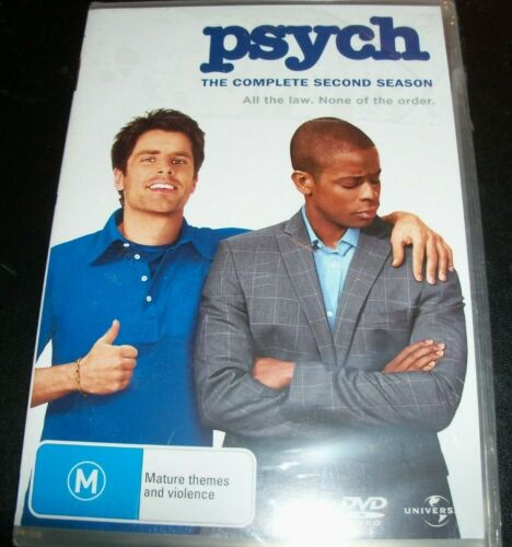 Psych The Complete Season Two 2 (Australia Region 4) DVD – New