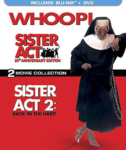 Sister Act 1 / 2: Back in the Habit (3 Disc + DVD, 20th Anniversary) BLU-RAY NEW