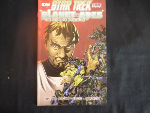 Star Trek Planet of the Apes Primate Directive 4 Reg cover (b21) IDW 2015