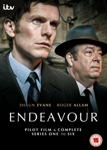 Endeavour the complete Series Season 1, 2, 3, 4, 5 & 6 DVD R4 New and Sealed