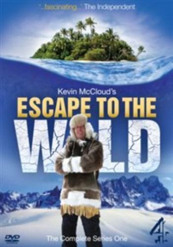 Kevin McCloud's ESCAPE TO THE WILD  DVD  - Season 1 ( NEW )