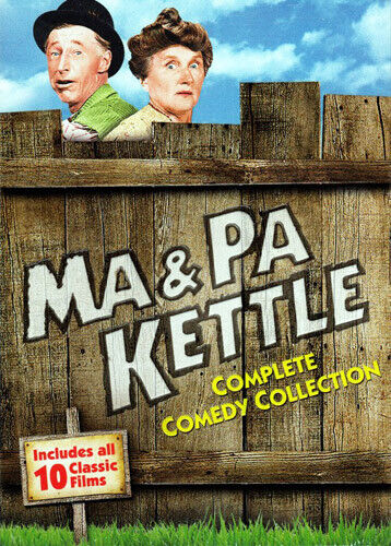 Ma and Pa Kettle: The Complete Comedy Collection (5 Disc) DVD NEW