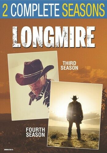 Longmire: The Complete Third and Fourth Seasons (Seasons 3 / 4) (4 Disc) DVD NEW