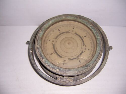 WWII 1941 The Lionel Corporation Mark 1  U.S. Navy BU Ships Compass 8""