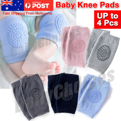 Baby Crawling Cushion Knee Pads Safety Infant Toddler Anti-slip Protector Unisex
