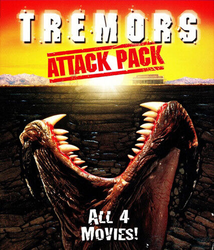 Tremors Attack Pack: 1 / 2 / 3 / 4 (2 Disc) BLU-RAY NEW
