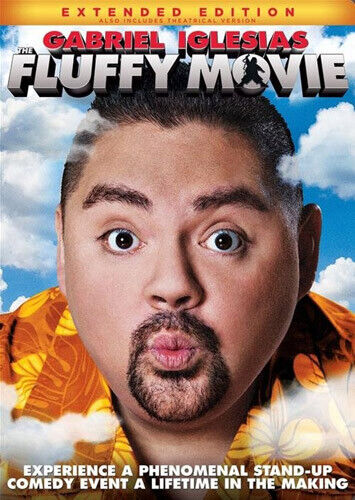 Gabriel Iglesias: The Fluffy Movie: Unity Through Laughter (Extended) DVD NEW